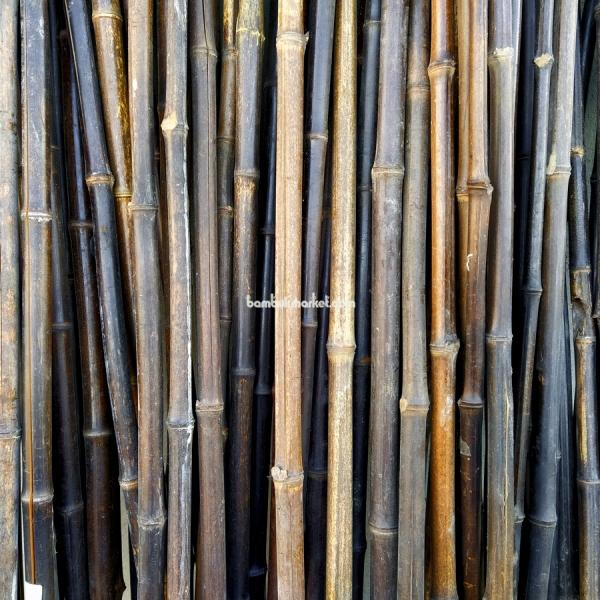 Бамбуковый ствол,  Ø1,8-2см, L 2м, черный, СОРТ 2 – фото 1