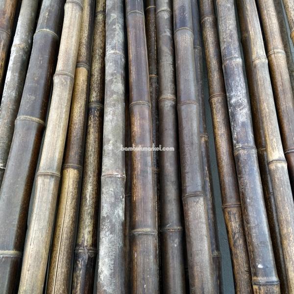 Бамбуковый ствол,  Ø4-5см, L 3м, черный, СОРТ 2 – фото 7