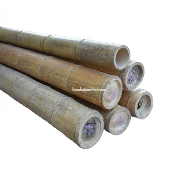 Бамбуковый ствол, Ø11-12см, L 3м, натуральный – фото 12
