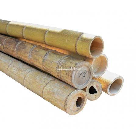 Бамбуковый ствол, Ø14-15см, L 3м, натуральный - фото 1