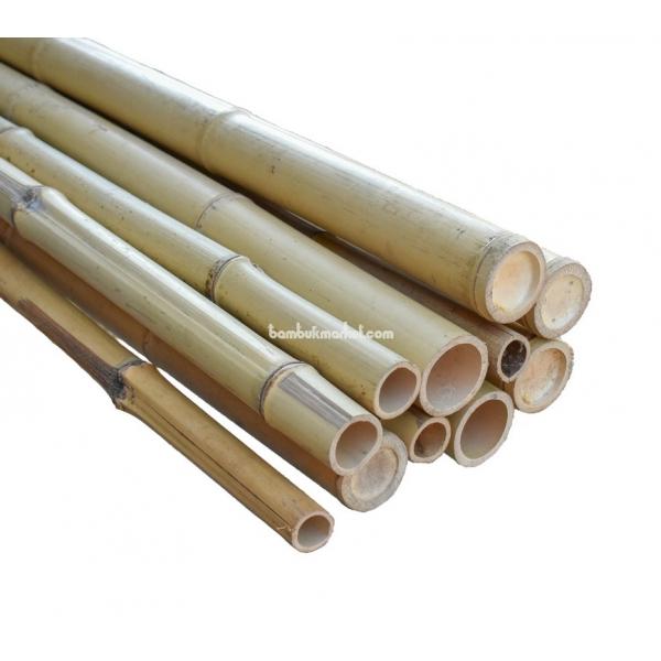 Бамбуковый ствол,  Ø4-5см, L 3м, натуральный – фото 6