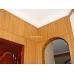 Бамбуковые обои, ширина 1,0м, бренди, матовый лак, планка 17мм – фото 6