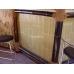 Бамбуковые обои, ширина 1,5м, серые, матовый лак, планка 17мм – фото 5