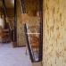Бамбуковые обои, ширина 0,9м, черепаха шоколадная, матовый лак, планка 17мм – фото 4