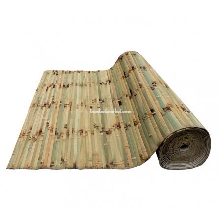 """Бамбуковые обои, ширина 1,0м, черепаха """"Кардио"""", матовый лак, планка 17мм - фото 1"""