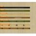 Бамбуковые обои, ширина 1,8м, натуральные, с нитью, матовый лак, планка 5мм – фото 5