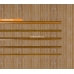 Бамбуковые обои, ширина 0,9м, тонированные, с нитью, матовый лак, планка 5мм – фото 4