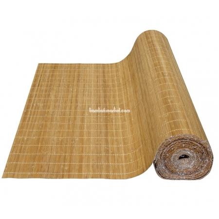 Бамбуковые обои, ширина 2,5м, тонированные, с нитью, матовый лак, планка 5мм - фото 1