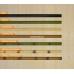Бамбуковые обои, ширина 2,5м, натуральные, с нитью, матовый лак, планка 8мм – фото 5