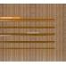 Бамбуковые обои, ширина 1,8м, тонированные, с нитью, матовый лак, планка 8мм – фото 4