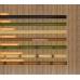 Бамбуковые обои, ширина 1,8м, тонированные, с нитью, матовый лак, планка 8мм – фото 5