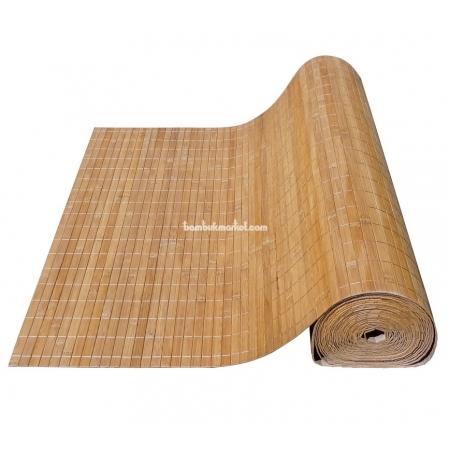 Бамбуковые обои, ширина 2,5м, тонированные, с нитью, матовый лак, планка 17мм - фото 1