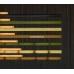Бамбуковые обои, ширина 0,9м, венге, матовый лак, планка 5мм – фото 5