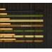 Бамбуковые обои, ширина 0,9м, венге, матовый лак, планка 8мм – фото 5