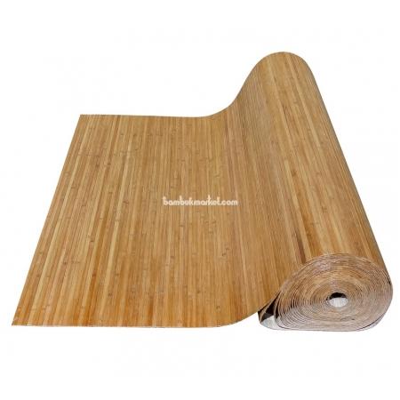Бамбуковые обои, ширина 1,8м, тонированные, матовый лак, планка 12мм - фото 1
