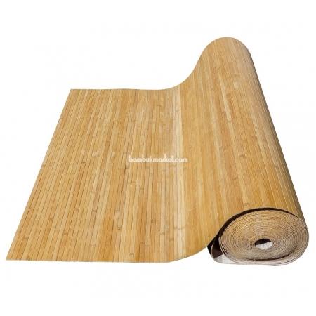 Бамбуковые обои, ширина 1,8м, тонированные, матовый лак, планка 17мм - фото 1