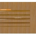 Бамбуковые обои, ширина 2,5м, тонированные, матовый лак, планка 5мм – фото 4