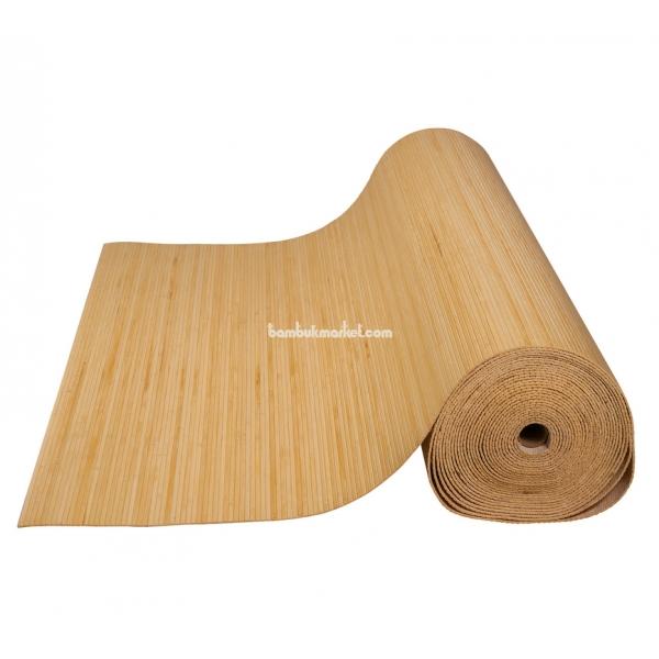 Бамбуковые обои, 10х1,8м, натуральные, матовый лак, полоса 5мм – фото 13