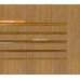 Бамбуковые обои, ширина 1,8м, тонированные, матовый лак, планка 8мм – фото 4