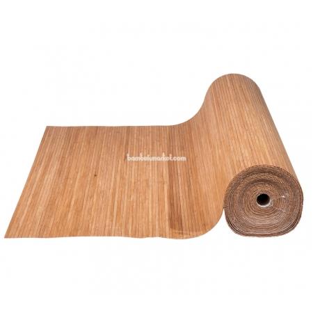 Бамбуковые обои, ширина 0,9м, тонированные, матовый лак, планка 8мм - фото 1
