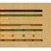 Бамбуковые обои, ширина 0,9м, натуральные, матовый лак, планка 8мм – фото 5
