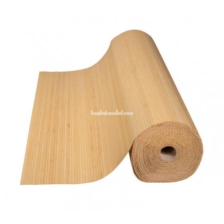 Бамбуковые обои, ширина 1,5м, натуральные, матовый лак, планка 8мм - фото 1