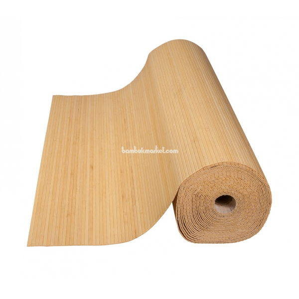 Бамбуковые обои, 10х1,8м, натуральные, матовый лак, полоса 8мм – фото 14