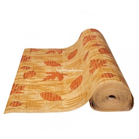 """Бамбуковые обои, ширина 0,9м, принтованные """"Осень"""", матовый лак, планка 17мм - фото 1"""