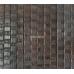 Бамбуковые обои, ширина 1,8м, венге волна, матовый лак, планка 17мм – фото 3