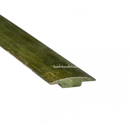 Молдинг стыковочный, зеленый - фото 1