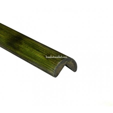 Молдинг угловой наружный, черепаха зеленый - фото 1